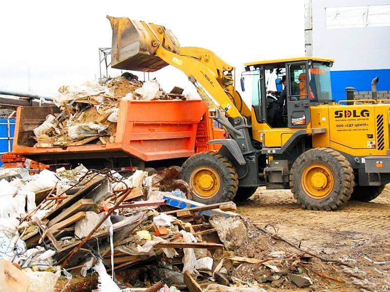 вывоз мусора в Харькове